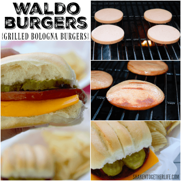 Have you ever heard of Waldo Burgers? These grilled bologna burgers are SO delicious!!