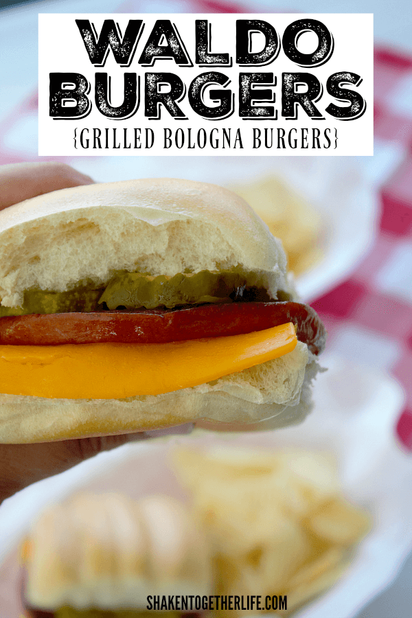 Waldo Burgers (or Grilled Bologna Burgers) are a regional specialty from the Midwest and our family LOVES them!