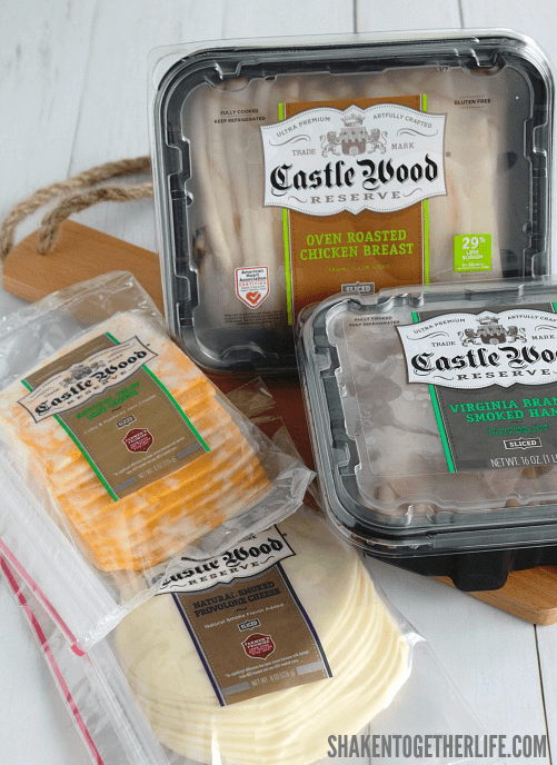 We use Castle Woods Reserve meats and cheeses to make Lunch Box Quesadillas!