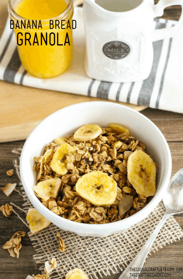 Banana Bread Granola - yum!
