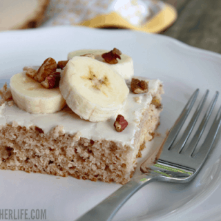 3 Ingredient Banana Nut Muffin Cake - this is too easy not to make!