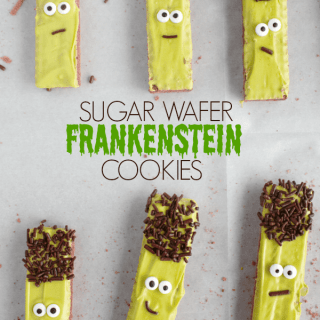 frankenstein sugar wafer cookies