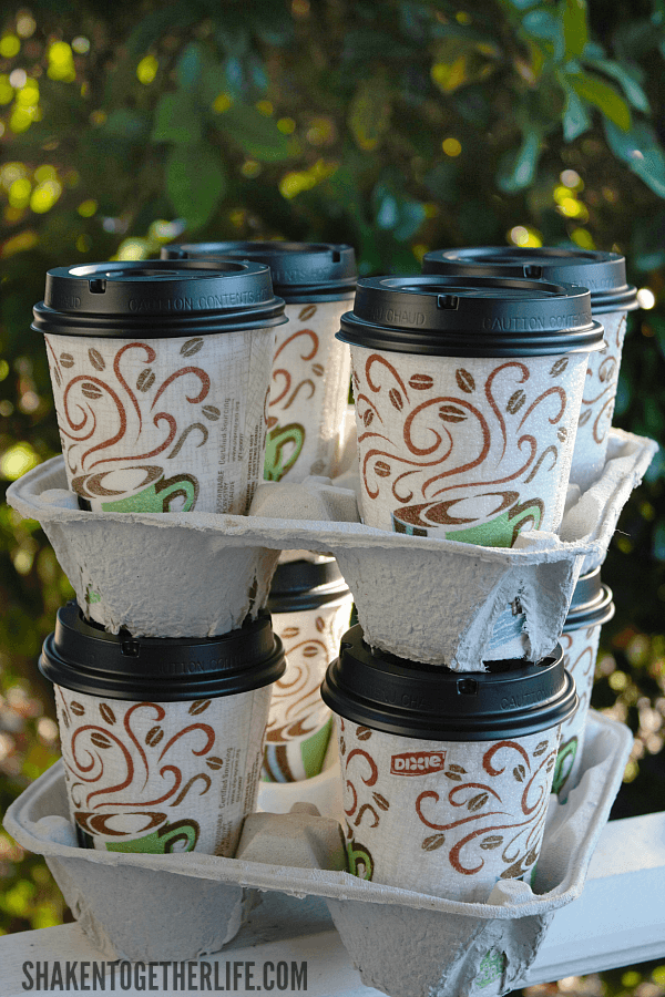 Put together an easy Hot Chocolate Bar to Go with Dixie® To Go cups!