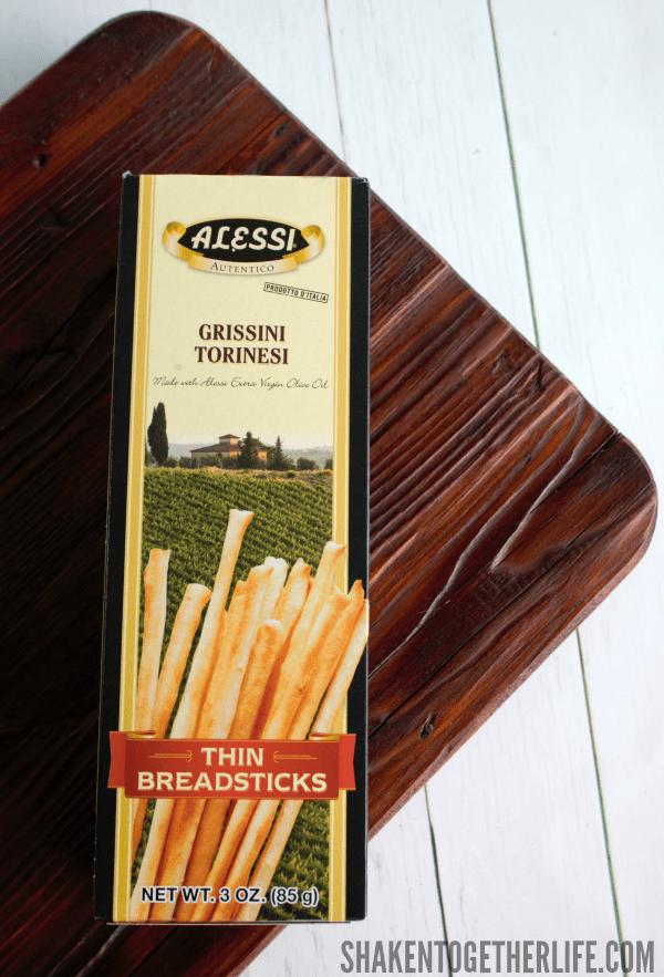 Prosciutto Wrapped Breadsticks - I love these thin crispy breadsticks!