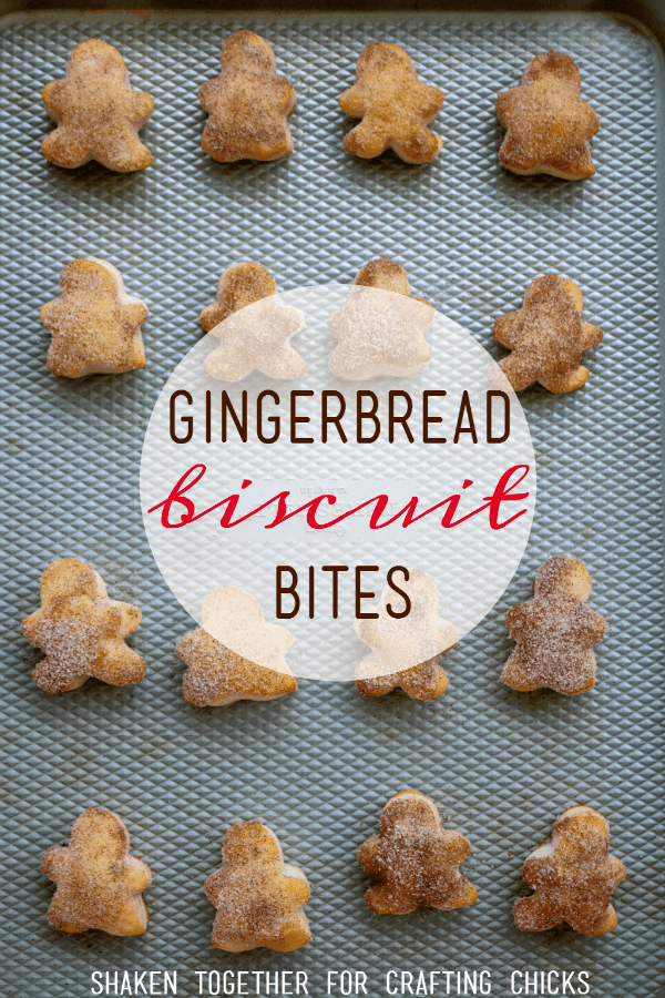 Gingerbread Biscuit Bites are an adorable addition to Christmas breakfast!