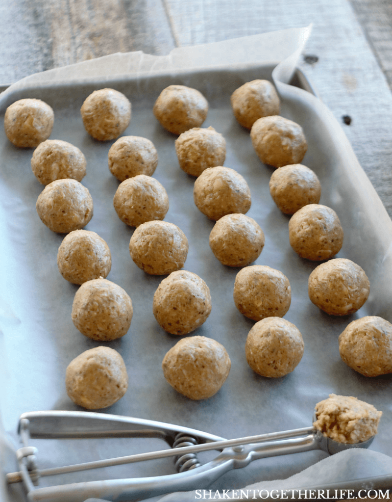 3 Ingredient Energy Bites are SO easy to make. Just mix, scoop, roll and refrigerate!