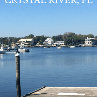 I am sharing our favorite activities in Crystal RIver, Florida - our family of 4 loved this quaint little riverside town!