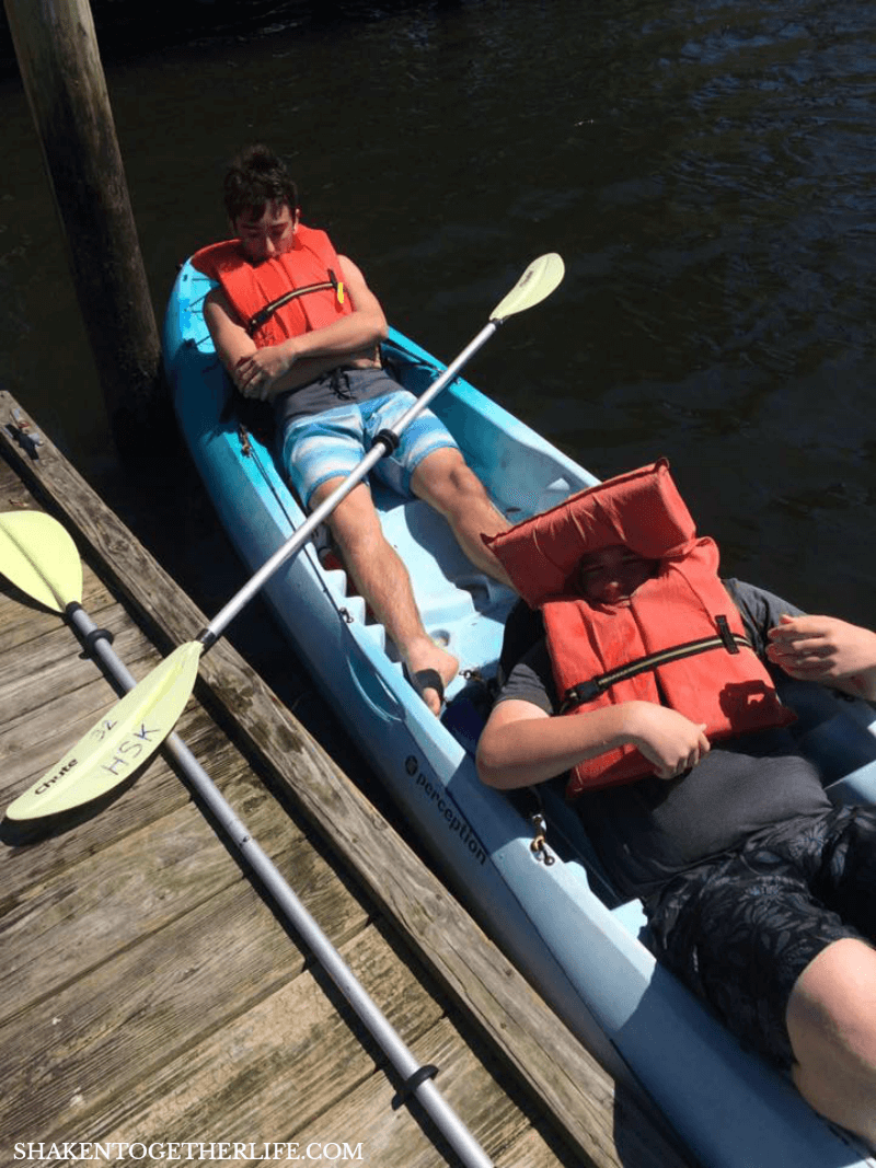 Our family vacation and favorite activities in Crystal Springs FL - kayaking was so fun!