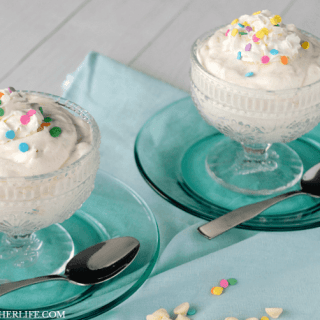 Very Vanilla Pudding Mousse is an easy no bake dessert that packs a BIG vanilla punch!