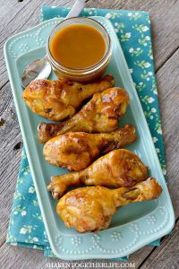 These Grilled Honey Mustard Drumsticks are dripping in a gloriously sticky glaze! This easy grilling recipe is perfect for those upcoming picnics and any outdoor entertaining!