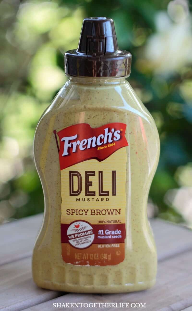 Spicy Roast Beef Wraps get their kick from bold, flavorful French's Spicy Brown mustard!