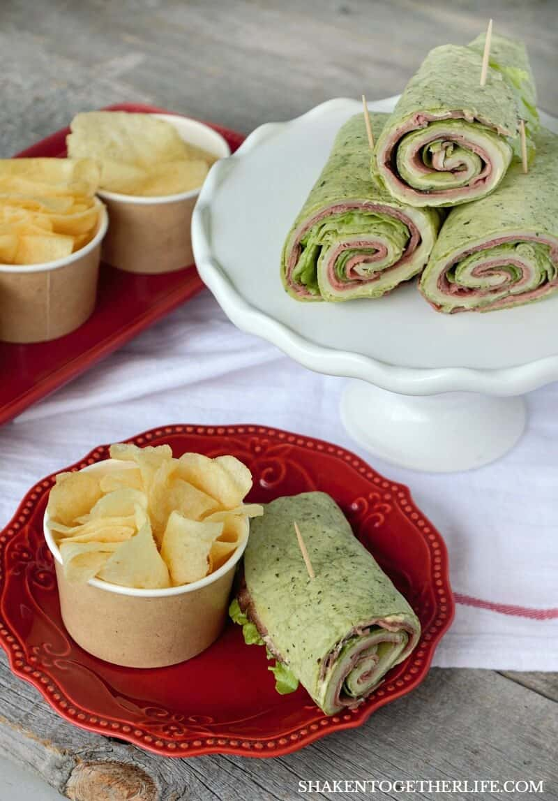 Serve our Spicy Roast Beef Wraps with cups of chips, pasta or fruit for easy entertaining!