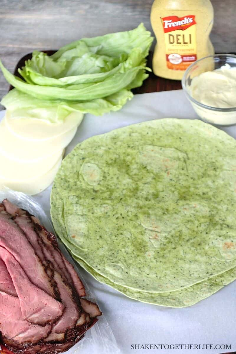 Spicy Roast Beef Wraps are an easy make ahead meal for any Summer get together!