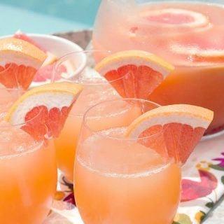 Ruby Red Grapefruit Mimosas are the perfect 2 ingredient cocktail for any occasion!
