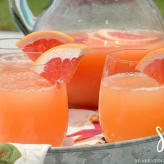 Ruby Red Grapefruit Mimosas