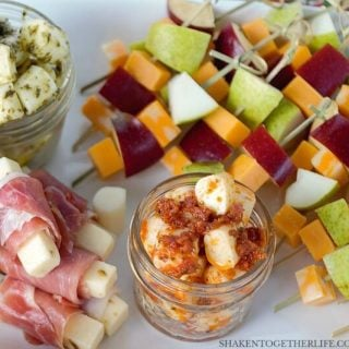 3 Easy Cheesy Appetizers {Using Cheese Sticks!!}