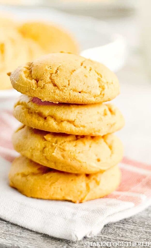 Mom's Soft Pumpkin Cookies are the perfect mix of pumpkin and a vanilla cookie base - subtle, tender and irresistible!