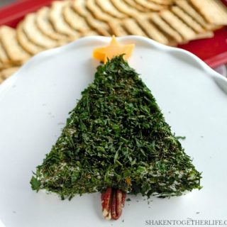 Cream Cheese Christmas Tree Appetizer
