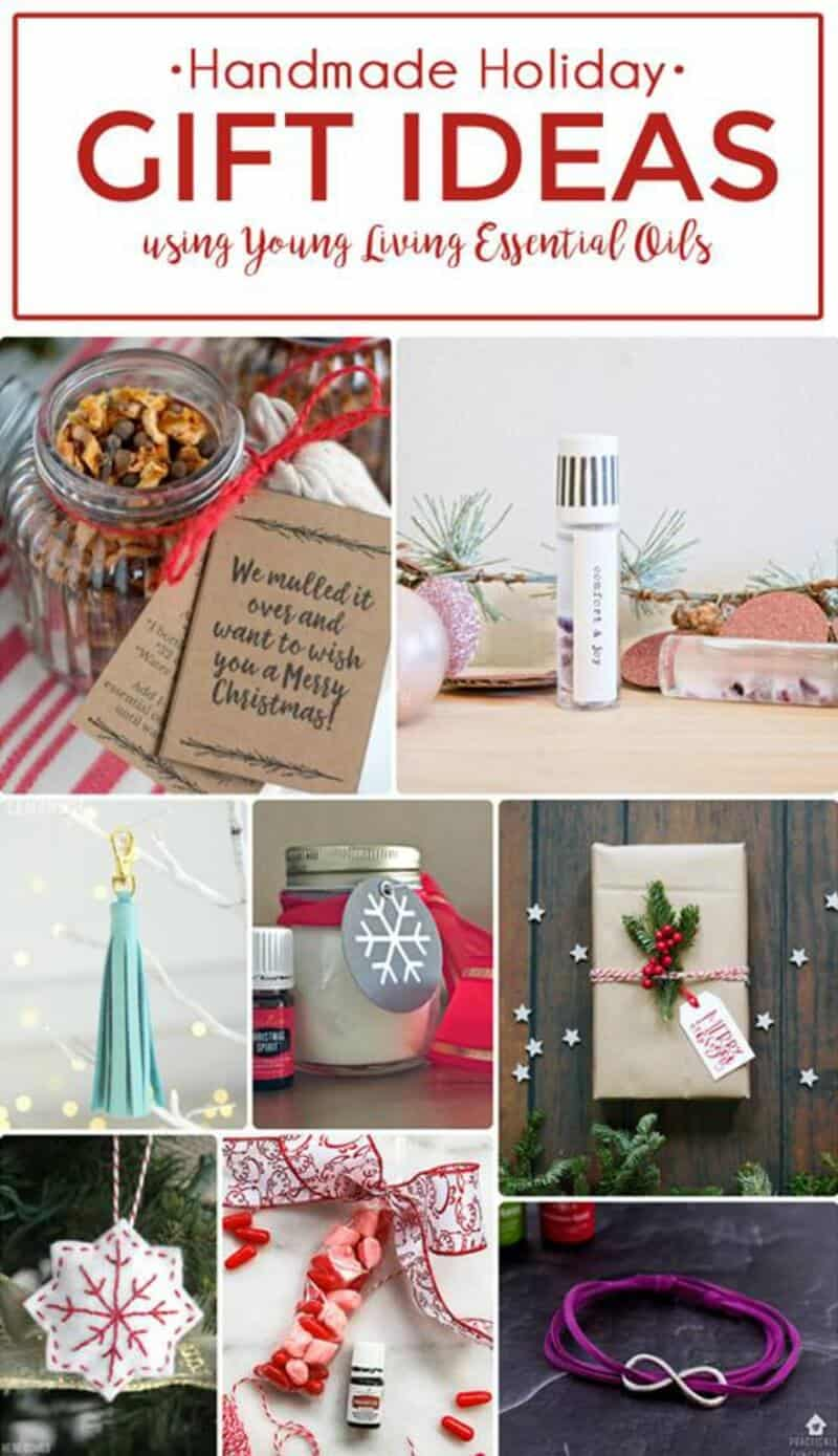 Essential Oils Mulling Spices Gift & 7 more Handmade Holiday Gifts using Young Living Essential Oils!