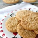 Incredibly easy and delicious spiced, these Gingerbread Snickerdoodles are the easiest Christmas cookie ever!