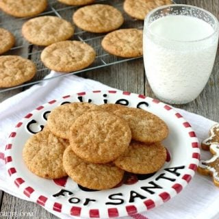 Super Simple Gingerbread Snickerdoodles