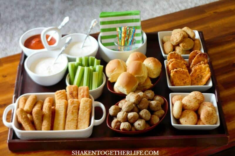 Make an Epic Game Day Snack Board for your next big game get together! It is packed with easy to prepare finger foods and 3 savory dips!