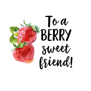 Strawberry Themed Gifts! Here is a list of 20+ strawberry gifts and printable berry sweet tags! Perfect for friends or Valentines day!