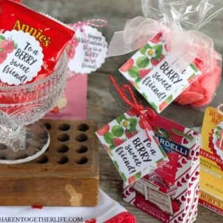 Strawberry Themed Gifts + Berry Sweet Printable Tags