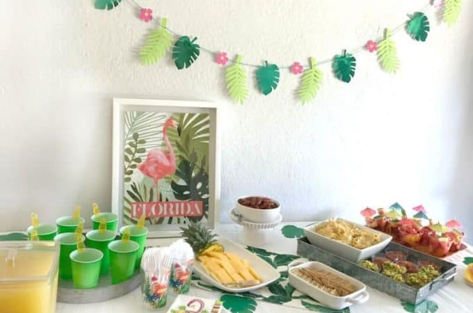 Grab your gal pals and throw a bright and festive Tropical Summer Craft Party! From food to decorations to 4 easy craft projects, this post has all the information you need to host a Summer craft day for the girls!