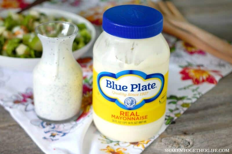 With just 6 ingredients in this simple Creamy Poppy Seed Dressing, quality is key - like Blue Plate Mayonnaise!