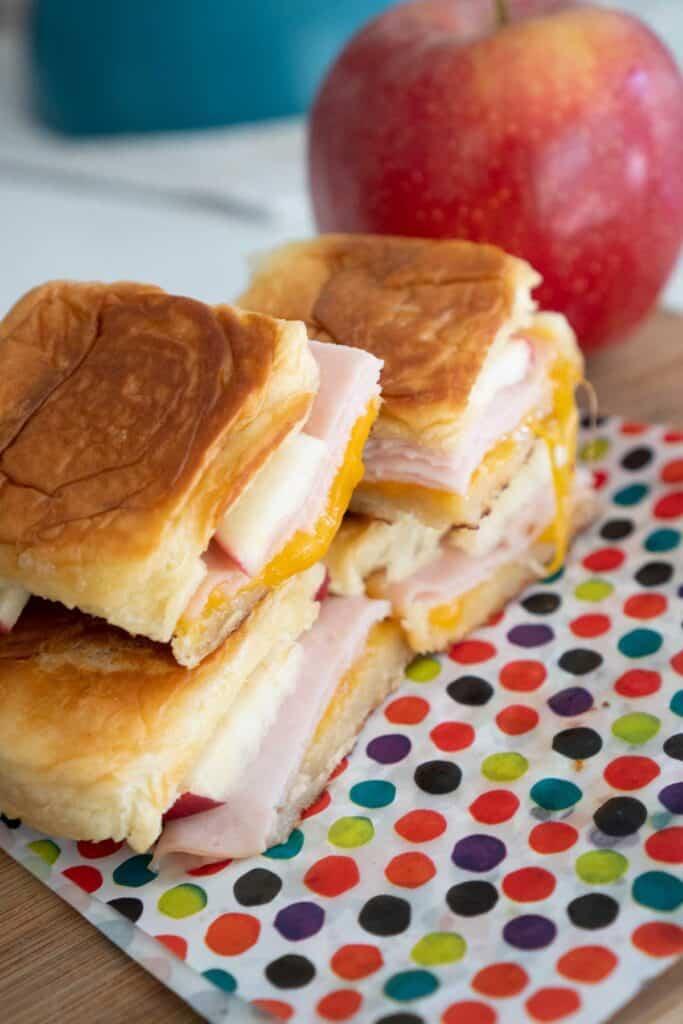 Hawaiian grilled cheese sandwich rolls