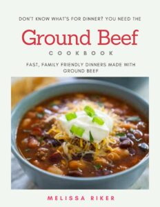 ground beef cookbook cover