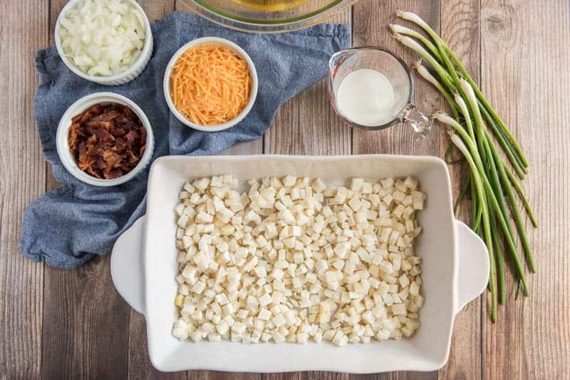 hash brown casserole ingredients